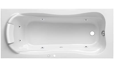 OTTOFOND Whirlpoolwanne »Komfort«, Breite/Tiefe in cm: 170 - 180/80, Whirlpool - System kaufen
