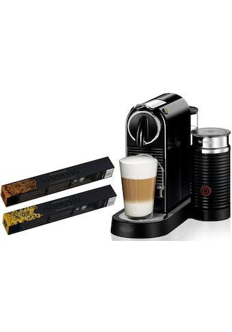 Nespresso Kapselmaschine »NESPRESSO CITIZ EN 267.BAE«, mit Aeroccino Milchaufschäumer kaufen