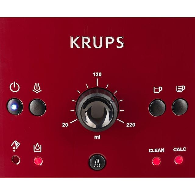 Krups Kaffeevollautomat EA8107, 1,8l Tank, Kegelmahlwerk
