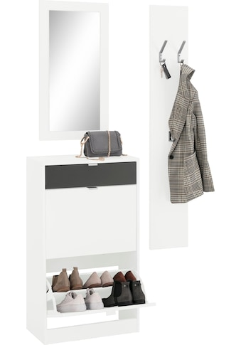 borchardt Möbel Garderoben-Set »Jella«, (Set, 3 St.) kaufen