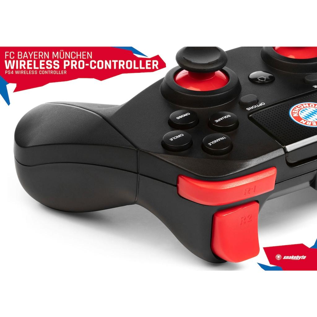 Snakebyte PlayStation 4-Controller »FC Bayern München PS4 Wireless Pro Controller«