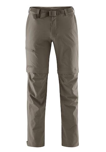 Maier Sports Funktionshose »Tajo«, Ausgezeichnete Outdoorhose mit funktionellem T-Zipp-Off kaufen
