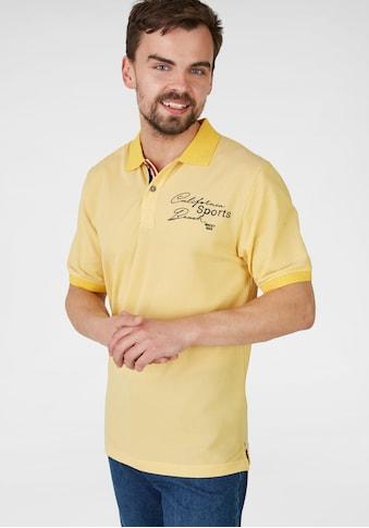 NAVIGAZIONE Poloshirt mit Flaggenelementen kaufen