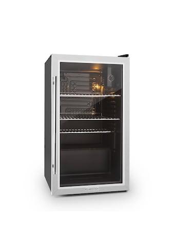 Klarstein Kühlschrank 80 Liter Klasse A+ Glastür Edelstahl »Beersafe - XXL« kaufen