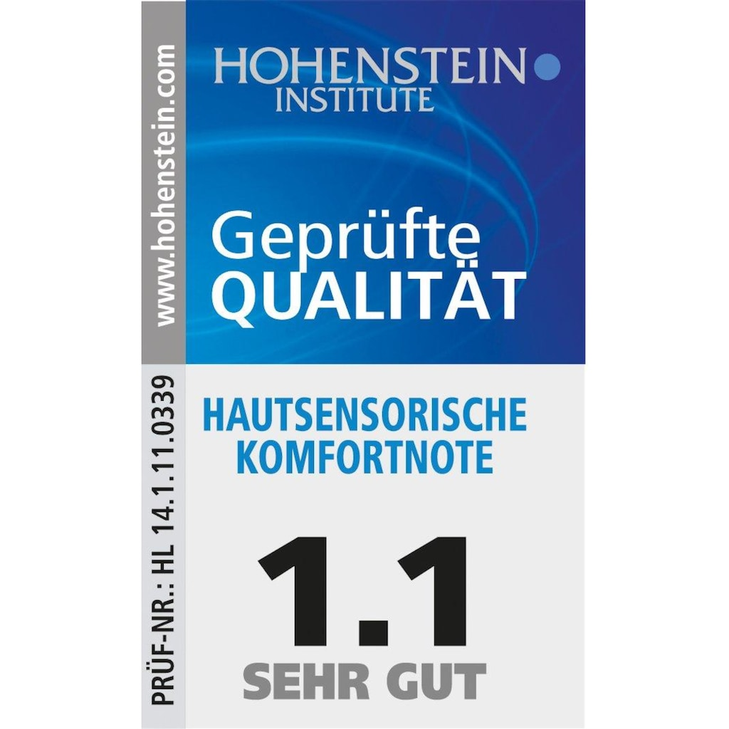 Mikrofaser-Seersucker Bettwäsche-Set, Bertels, »Adrian« (6tlg.)