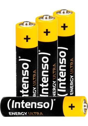 Intenso Batterie »Energy Ultra AAA LR03«, (4 St.) kaufen