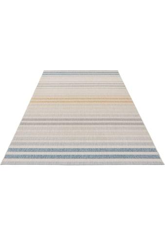 bougari Teppich »Paros«, rechteckig, 8 mm Höhe, Für In- und Outdoor geeignet, Wohnzimmer kaufen