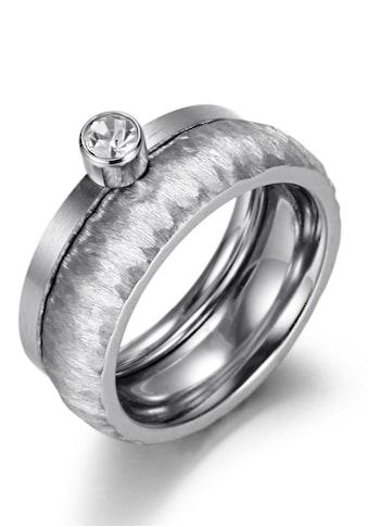 Firetti Ring-Set »2,0 mm, 4,0 mm, glänzende Optik, matt, gekratzt, strukturiert«,... kaufen