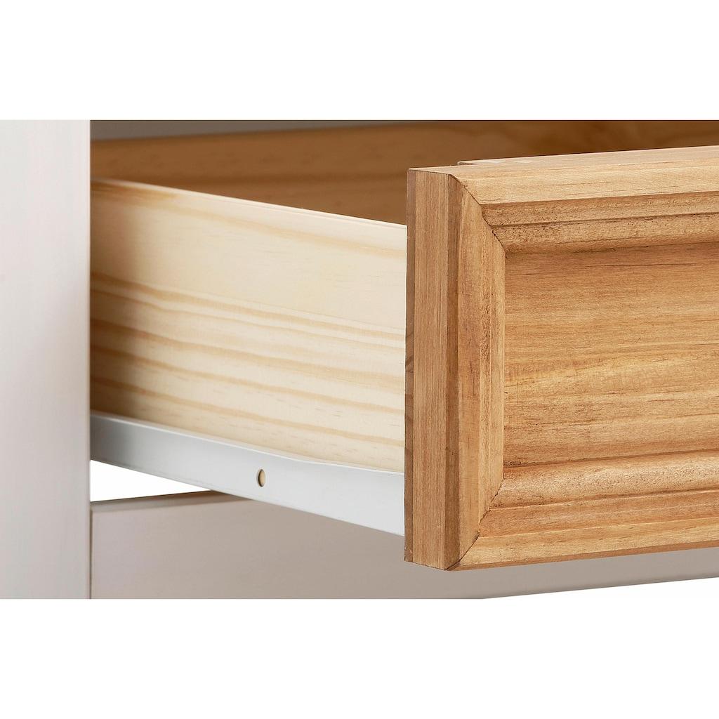 Home affaire Couchtisch »Selma«, mit schöner Holzstruktur