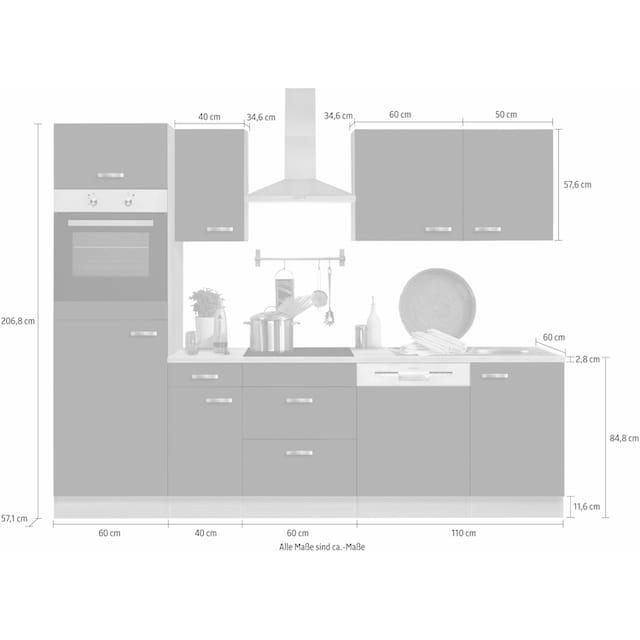 OPTIFIT Küchenzeile »Faro«
