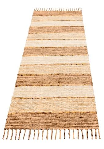 Home affaire Collection Läufer »Priya«, rechteckig, 6 mm Höhe, Wendeteppich kaufen