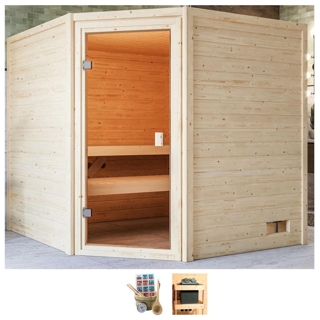 Karibu Sauna »Tami«, ohne Ofen