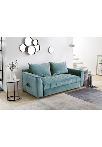 Home affaire Schlafsofa, Platzsparendes Sofa mit Gästebettfunktion,... kaufen