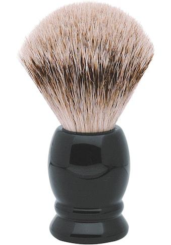 ERBE Rasierpinsel »L«, Dachs-Zupfhaar, schwarzer Kunststoff-Griff kaufen