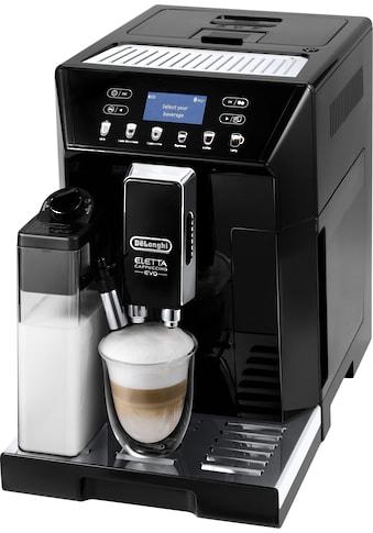 De'Longhi Kaffeevollautomat ECAM 46.860.B Eletta Evo, schwarz, 2l Tank, Kegelmahlwerk kaufen