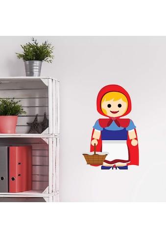 Wall-Art Wandtattoo »Spielfigur - Rotkäppchen« kaufen
