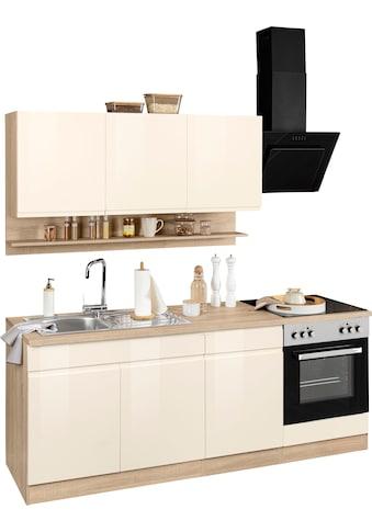 HELD MÖBEL Küchenzeile »Virginia«, mit E-Geräten, Breite 210 cm kaufen