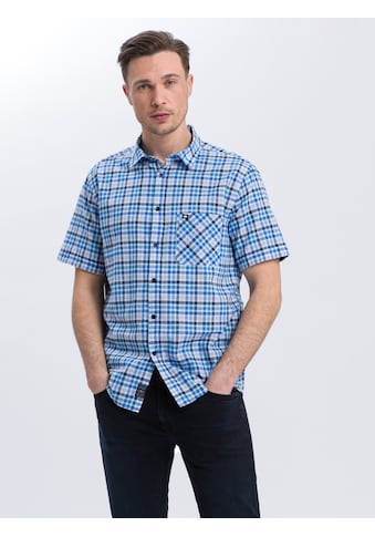 Cross Jeans® Kurzarmhemd »35357«, Kariertes Freizeithemd kaufen