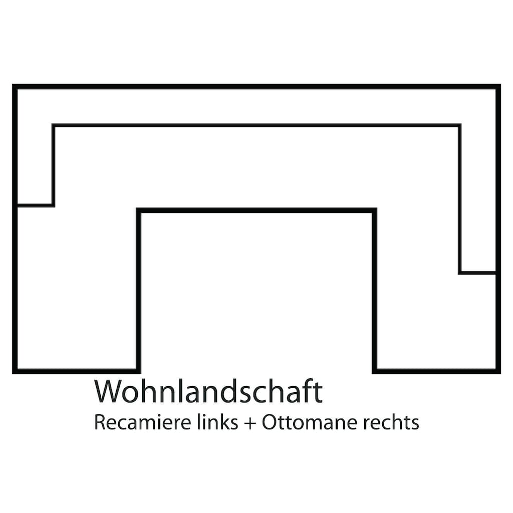 DOMO collection Wohnlandschaft