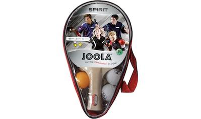 Joola Tischtennisschläger »Carat / Spirit«, (Set, 6 tlg., mit Bällen-mit... kaufen