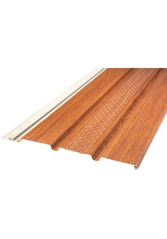 Baukulit VOX Verkleidungspaneel »SOFFIT Golden Oak«, braun kaufen