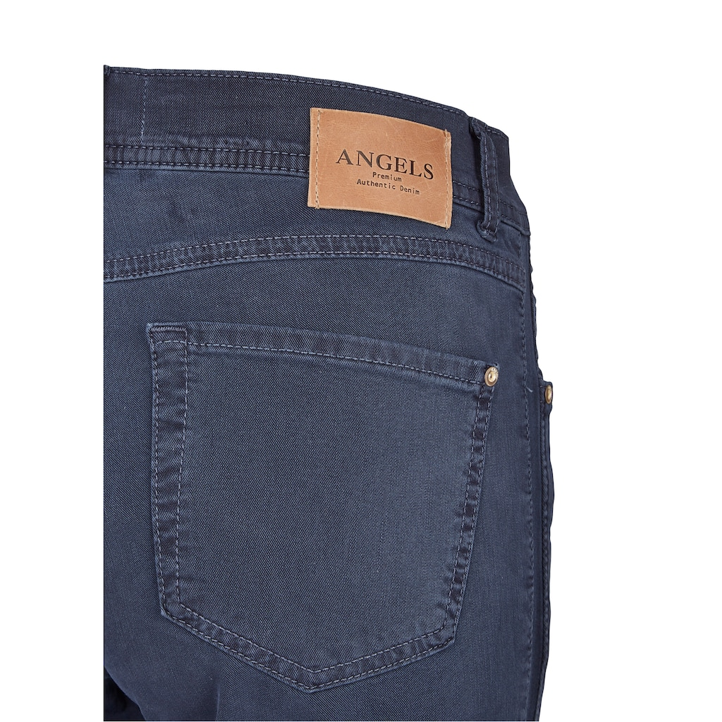 ANGELS Ankle-Jeans,Ornella Galon' in Coloured Denim
