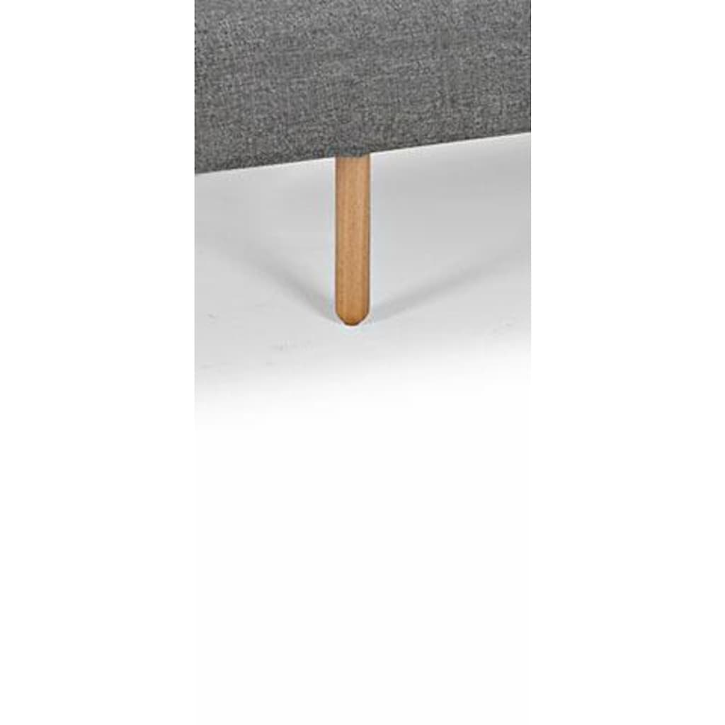 INNOVATION LIVING ™ Schlafsofa »Zeal«, im Scandinavian Design, Stem Beine, inklusive Rückenkissen