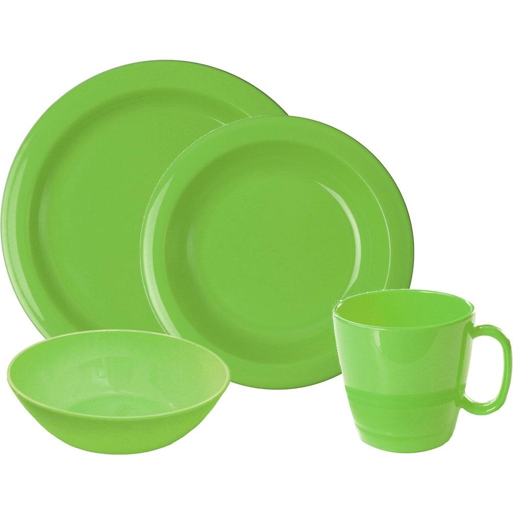 WACA Frühstücks-Geschirrset, (Set, 8 tlg.)