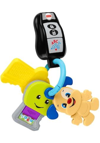 Fisher-Price® Lernspielzeug »Lernspaß Schlüsselbund«, mit Licht- und Soundfunktion kaufen
