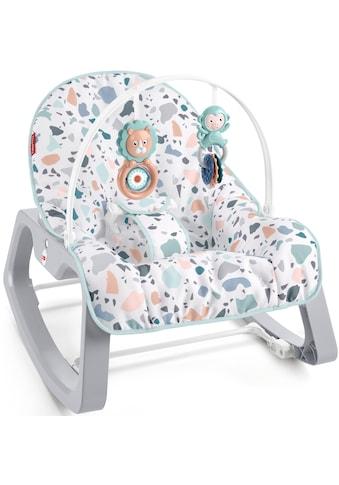 Fisher-Price® Babyschaukel »2in1 Baby Schaukelsitz«, bis 18 kg, mit Spielbogen und... kaufen