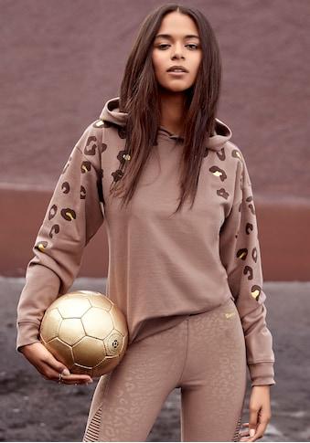 Bench. Kapuzensweatshirt, mit glänzendem Leodruck kaufen