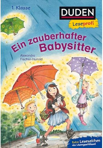 Buch »Duden Leseprofi - Ein zauberhafter Babysitter, 1. Klasse / Alexandra... kaufen