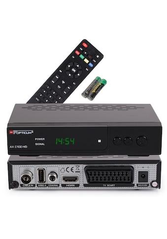 Opticum Red »AX C 100 Full HD« Kabel - Receiver kaufen