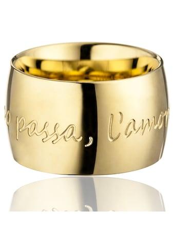 Gilardy Ring »Edelstahl Gelbgold« kaufen