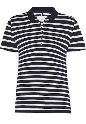 TOMMY HILFIGER Poloshirt »SHORT SLEEVE SLIM POLO STRIPE« kaufen