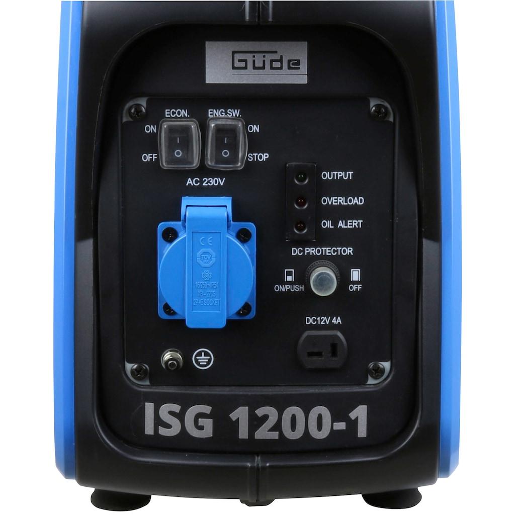 Güde Stromerzeuger »ISG 1200-1«, inkl. 230 V Steckdose und Ladekabel