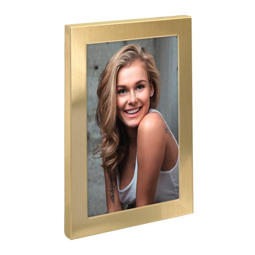 "Hama Bilderrahmen »Porträt-Bilderrahmen«, ""Davos"", Gold, 13 x 18 cm"