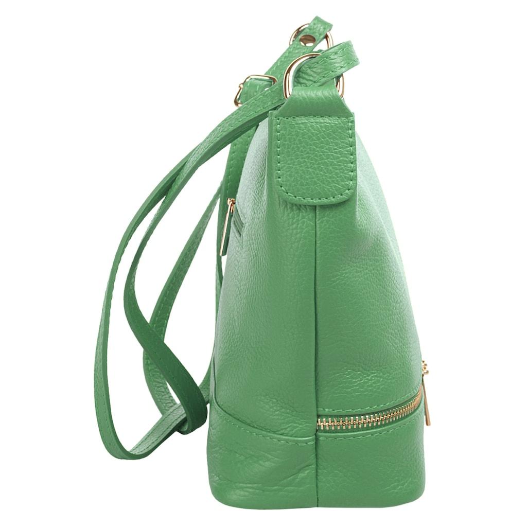 Cluty Umhängetasche »Leder, Made in Italy«, Leder