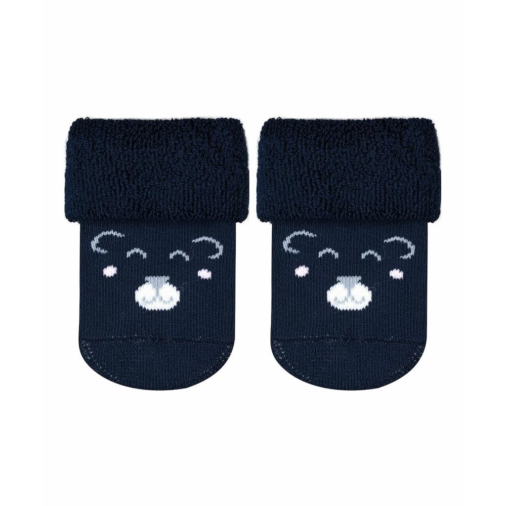 FALKE Socken »Baby Bear«, (1 Paar), aus Baumwolle