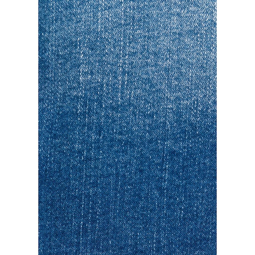 H.I.S Jeansjacke »eco Denim«, in klassischer Form mit Stretch