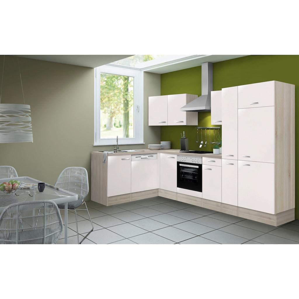 OPTIFIT Winkelküche »Faro«, ohne E-Geräte, Stellbreite 300 x 175 cm