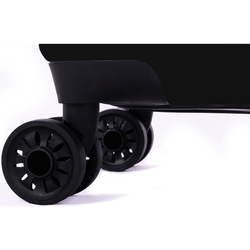 meinTrolley Hartschalen-Trolley »England, 55 cm«, 4 Rollen, Made in Germany