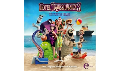 Musik - CD (3)Original Hörspiel z.Kinofilm / Hotel Transsilvanien, (1 CD) kaufen