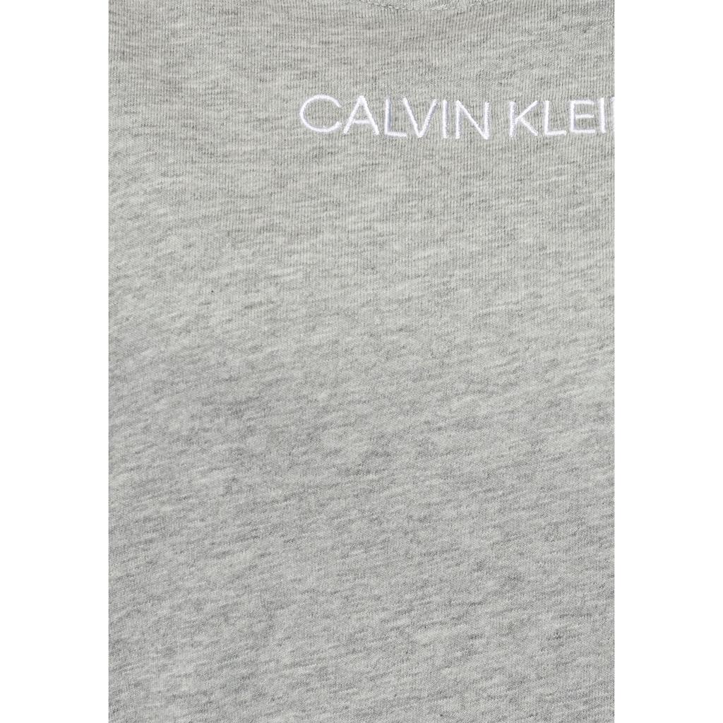 Calvin Klein Sleepshirt, mit Streifen an den Ärmeln