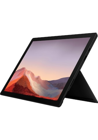 Microsoft Surface Pro 7  -  16GB / 256GB i7 Schwarz Convertible Notebook (31 cm / 12,3 Zoll, Intel,Core i7, 256 GB SSD) kaufen