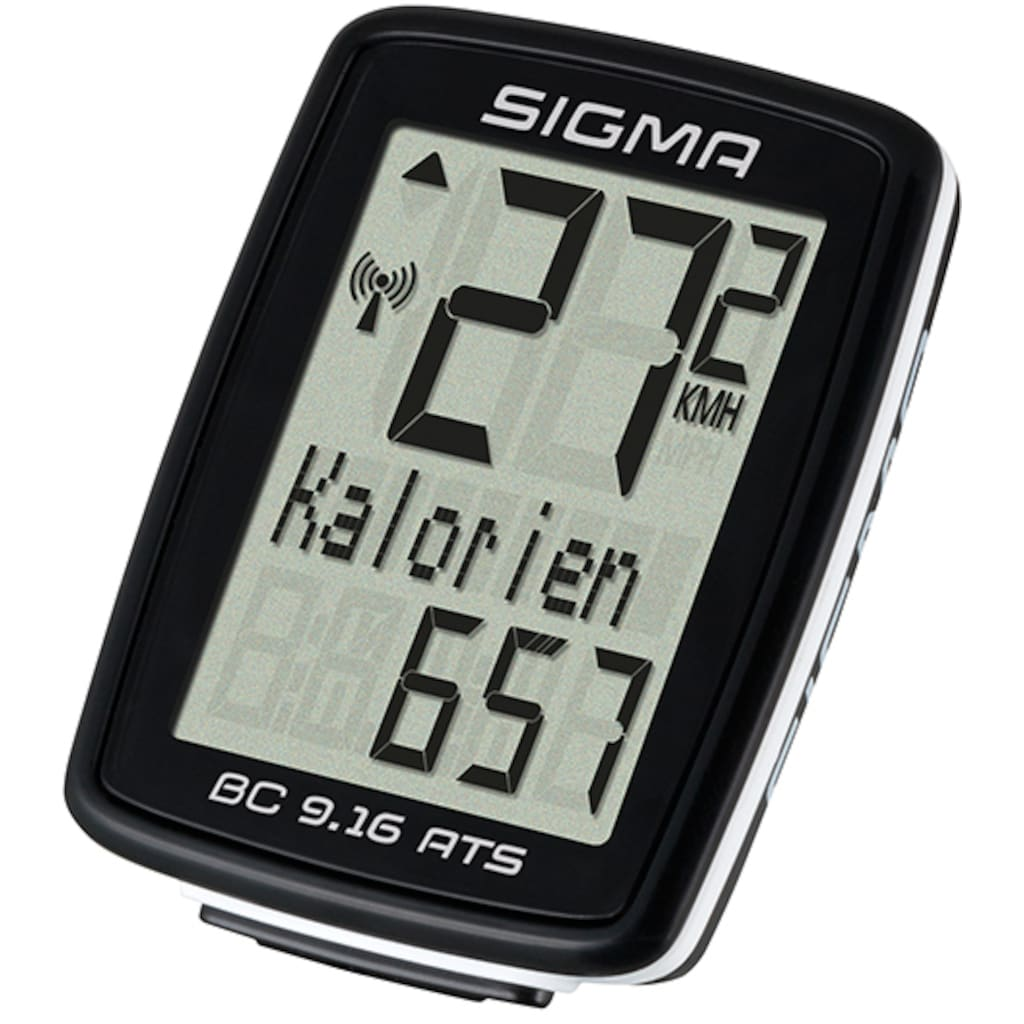SIGMA SPORT Fahrradcomputer »BC 9.16 ATS«, kabellos