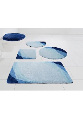 Home affaire Badematte »Benka«, Höhe 15 mm, strapazierfähig, Farbverlauf kaufen