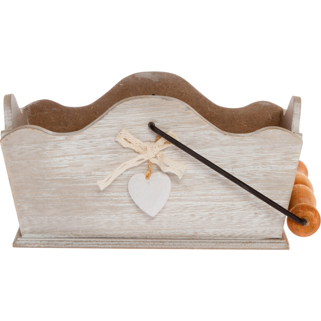 Myflair Möbel & Accessoires Dekokorb »Heinfried«, Holz