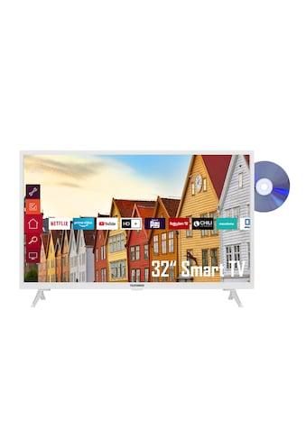 "Telefunken LED-Fernseher »XH32K550D-W«, 80 cm/32 "", HD ready, Smart-TV kaufen"