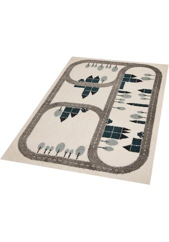 Zala Living Kinderteppich »Country Road«, rechteckig, 18 mm Höhe, Kurzflor,... kaufen